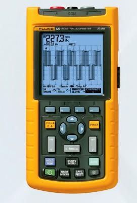fluke 123 osciloscopio digital port u00e1til de 20mhz