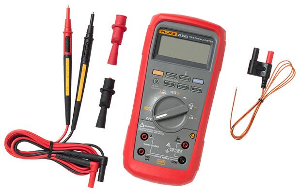 fluke 28 iiex mult u00edmetro digital rms intr u00ednsecamente seguro  ilv(xd)z-y(bk) manual