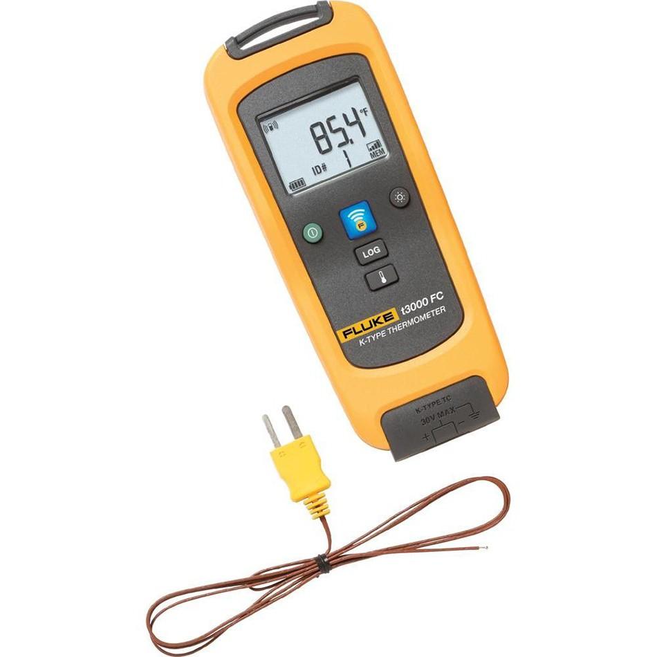 Fluke t3000fc term metro de contacto wireless - Termometro de pared ...